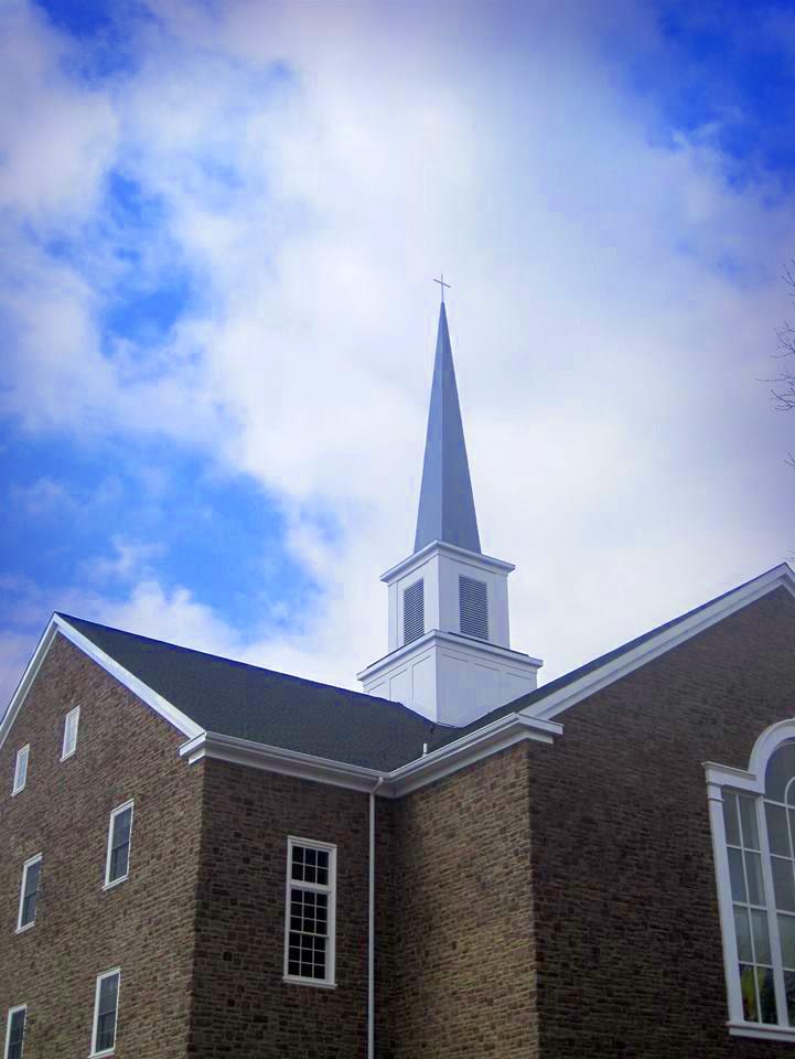 Leidy's church steeple